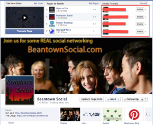 beantown social on facebook add friend