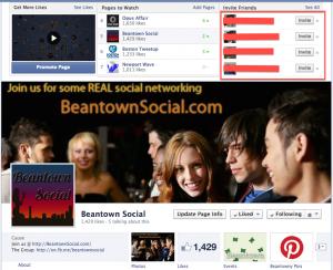 beantown social on facebook add friend